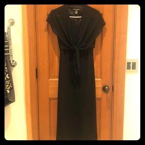 Jones wear black formal dress